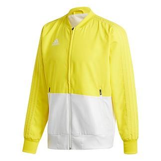 Adidas Freizeitjacke Condivo 18 Gelb/Weiß