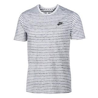 Nike T-Shirt Sportswear Melange Grau/Schwarz
