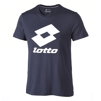 Lotto T-Shirt Smart Logo navy