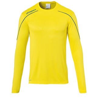 uhlsport Trainingsshirt Langarm Stream 22 gelb/blau