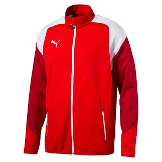 Puma Trainingsjacke Team Rot/Weiß