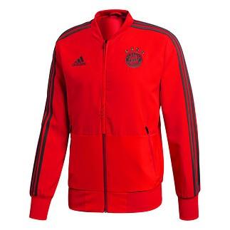 Adidas FC Bayern München Präsentations-Jacke Rot
