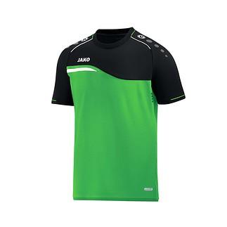 Jako T-Shirt Competition 2.0 grün/schwarz