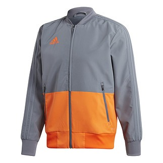 Adidas Freizeitjacke Condivo 18 Grau/Orange