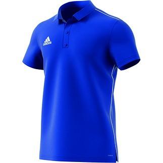 Adidas Poloshirt Core 18 Blau