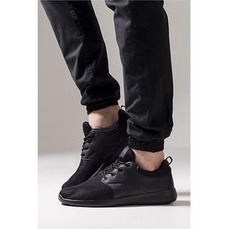 URBAN CLASSICS Sneaker Light Runner schwarz