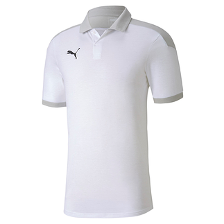 Puma Poloshirt Team FINAL 21 Weiß