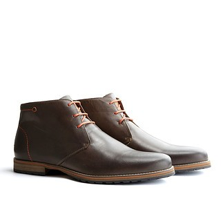TRAVELIN OUTDOOR Boot Liverpool dunkelbraun