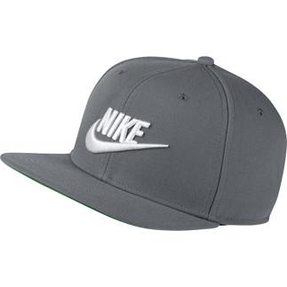 Nike Cap Sportswear Pro Grau/Weiß
