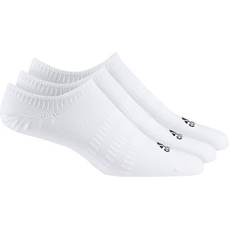 Adidas Sportsocken 3er Pack No Show Weiß