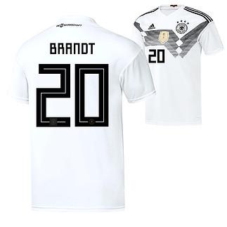 Adidas Deutschland WM 2018 DFB Trikot Heim BRANDT