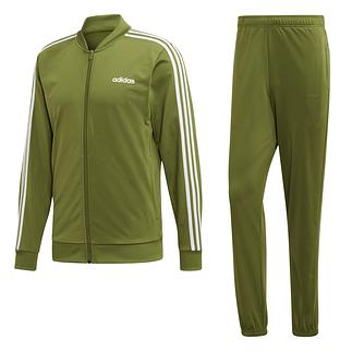 Adidas Trainingsanzug 3 Streifen Grün