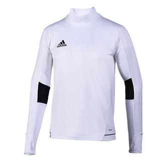 Adidas Trainingsshirt Langarm Tiro Weiß