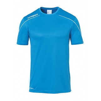 uhlsport Trainingsshirt Stream 22 cyan/weiß