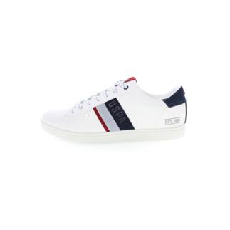 U.S. POLO ASSN. Sneaker Icon Eco weiß/dunkelblau