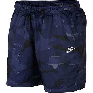 Nike Freizeit- und Badeshorts CAMO Blau
