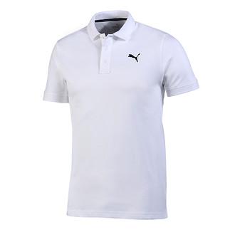 Puma Poloshirt ESS Basic Weiß