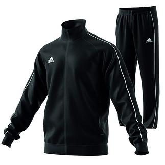 Adidas Trainingsanzug Core 18 Schwarz
