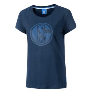 FC Schalke 04 T-Shirt CLASSIC Damen Blau