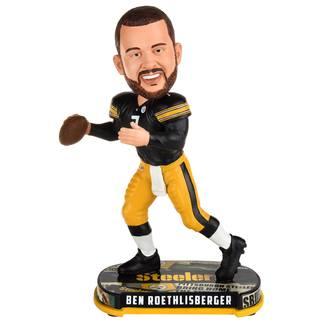 Forever Collectibles Pittsburgh Steelers Bobblehead Ben Roethlisberger schwarz/gelb