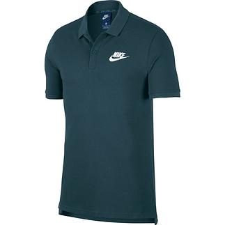 Nike Poloshirt Sportswear Basic Dunkelgrün