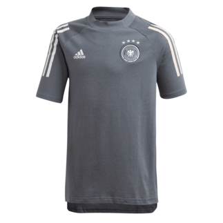 Adidas Deutschland DFB T-Shirt EM 2020 Kinder Dunkelgrau