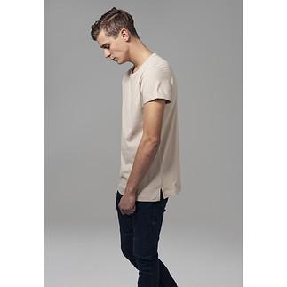 URBAN CLASSICS T-Shirt TurnUp sand