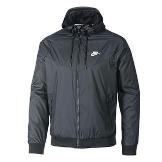 Nike Kapuzenjacke Windrunner Schwarz