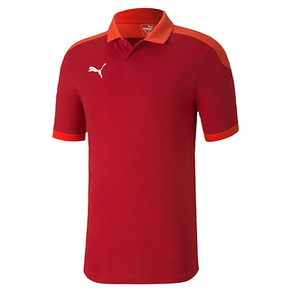 Puma Poloshirt Team FINAL 21 Rot