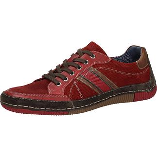 BAMA Sneaker Leder rot