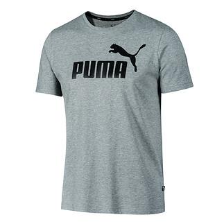 Puma T-Shirt ESS No.1 mittelgrau