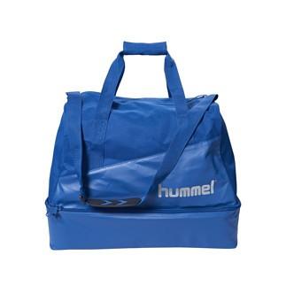 hummel Fußballtasche Authentic Charge blau