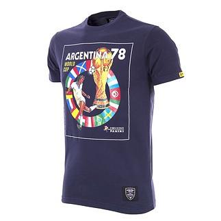 Copa PANINI T-Shirt World Cup 1978 Argentinien blau