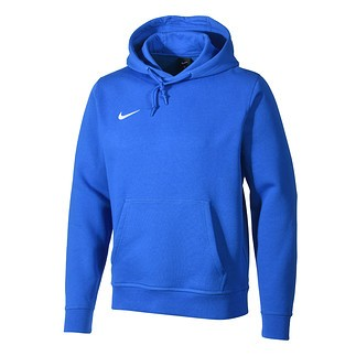 Nike Hoodie Club Blau