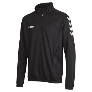 hummel Sweatshirt Core 1/2 Zip schwarz