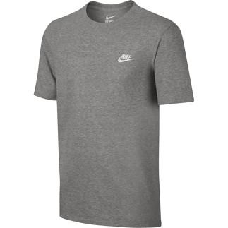 Nike T-Shirt Club Futura Grau