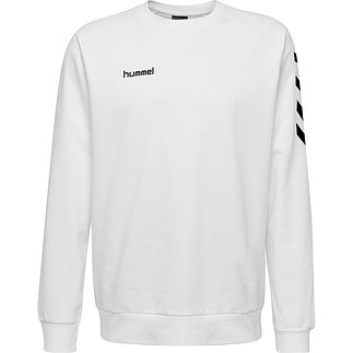 hummel Sweatshirt Cotton weiß