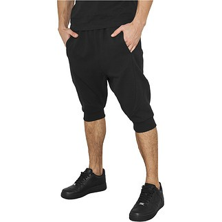 URBAN CLASSICS Shorts Deep Crotch Undefined Schwarz