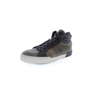 U.S. POLO ASSN. Sneaker Royce Eco khaki/schwarz