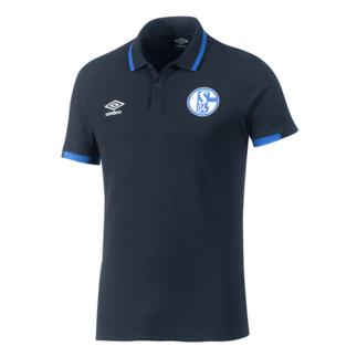 Umbro FC Schalke 04 Poloshirt 2019/2020 Schwarz