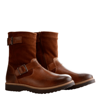 NoGRZ Winterstiefel I. Jones cognac