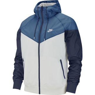 Nike Kapuzenjacke Windrunner Grau/Blau/Marine