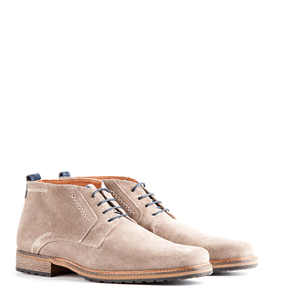 TRAVELIN OUTDOOR Boot London Suede taupe
