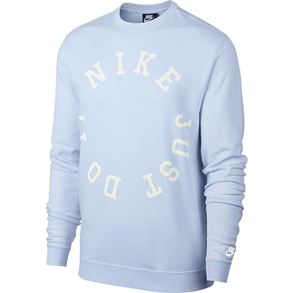 Nike Sweatshirt JDI Circle Blau