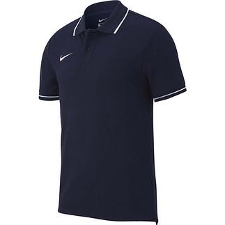 Nike Poloshirt Club 19 Dunkelblau
