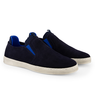 TRAVELIN OUTDOOR Slipper South Port navy