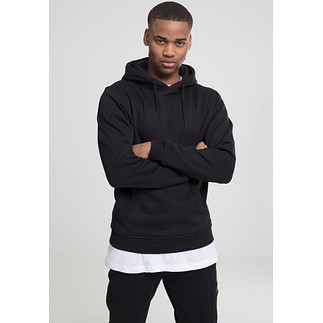URBAN CLASSICS Hoodie Relaxed Schwarz