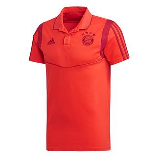 Adidas FC Bayern München 3S Polo Shirt 2019/2020 Rot