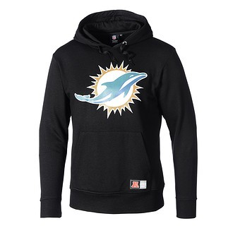 Majestic Athletic Miami Dolphins Hoodie schwarz