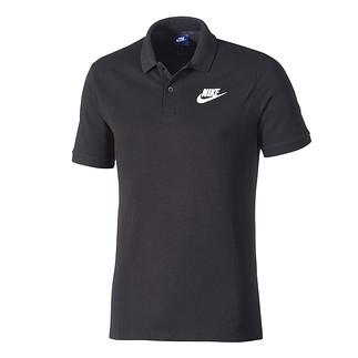 Nike Poloshirt Sportswear Basic schwarz/weiß